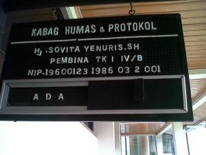 KABAG HUMAS DPRD PAYAKUMBUH - Hj. SOFITA YENURIS, SH