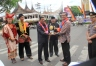 Ketua DPRD Kota Payakumbuh Wilman Singkuan dan Walikota Payakumbuh Riza Falepi