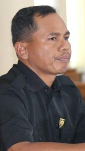 Gambar 18. Syafrizal---juru bicara fraksi Bintang Nasdem.