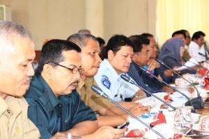 Foto 18 C. Para Kepsek SLTP dan SLTA se Kota Payakumbuh dan Ka.PT. Jasa Raharja BKt perwakil Sutarto dan ketuas Organda Amri