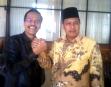 Ketua DPRD Limapuluh Kota Safarddin Dt Paduko Rajo dan Ketua DPRD Payakumbuh YB Dt Parmato Alam
