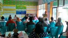 Edward DF, menerima aspirasi dari tokoh-tokoh masyarakat Kel. Padang Tangah Payobadar.