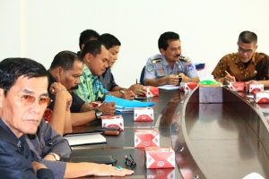 Foto. 1. Pansus III DPRD Kota Payakumbuh ketika kunker ke Kab. Pasaman