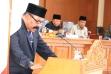 Mawi Etek Arianto, juru bicara DPRD dalam penyampaian 9 ranperda
