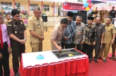 Gubernur Sumbar Irwan Prayitno resmikan SMA 4 dan SMA 5 Negeri Payakumbuh