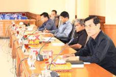 Rapat Kerja Komisi dengan Mitra Kerja