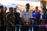 Wako bersama Anggota DPRD Ismet Harius dalam acara peresmian Kantor Lurah Ibuh
