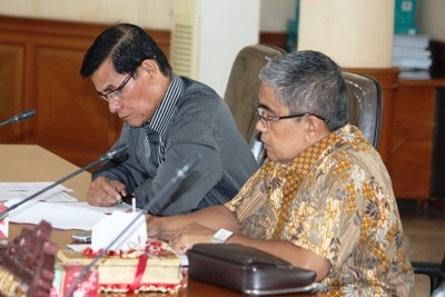 Hearing Pansus I DPRD payakumbuh dengan Pengurus KAN dan LPM se-Kota Payakumbuh
