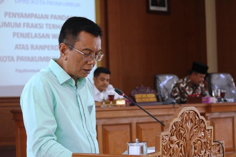 Hearing Pansus II DPRD Payakumbuh dengan Tokoh Masyarakat dan LPM se-Kota Payakumbuh