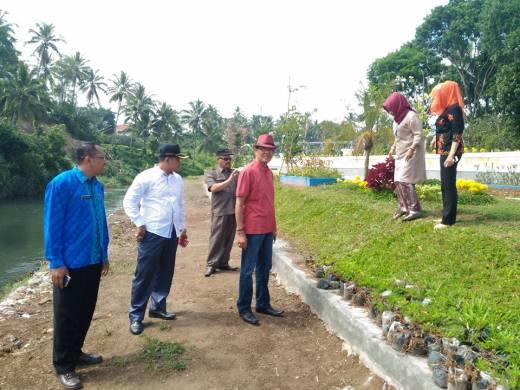 Komisi B DPRD Kota Payakumbuh bersama Dinas Pariwisata Kota Payakumbuh saat Turun Lapangan Ke Kawasan Batang Agam Sei. Pinago