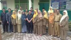 Rombongon Komisi C DPRD Payakumbuh dengan Jajaran Guru SD Subarang Batuang