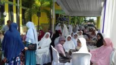 Pererat Silaturahmi, Jamaah Haji Kloter 9 Pada Tahun 2016 Adakan Pertemuan Di Rumah Dinas Ketua DPRD