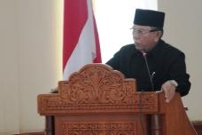 Wakil Walikota Payakumbuh, H. Suwandel Muchtar Menyampaikan Empat Buah Ranperda Yang dibacacakan PAda Sidang Paripurna DPRD Payakumbuh, Senin, 29 Mei 2017