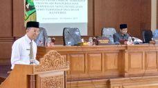 Wakil Walikota Payakumbuh Dalam Sidang Paripurna DPRD